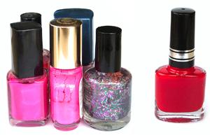 Productos tóxicos en los esmaltes de uñas