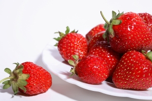 Fresas vitamina C